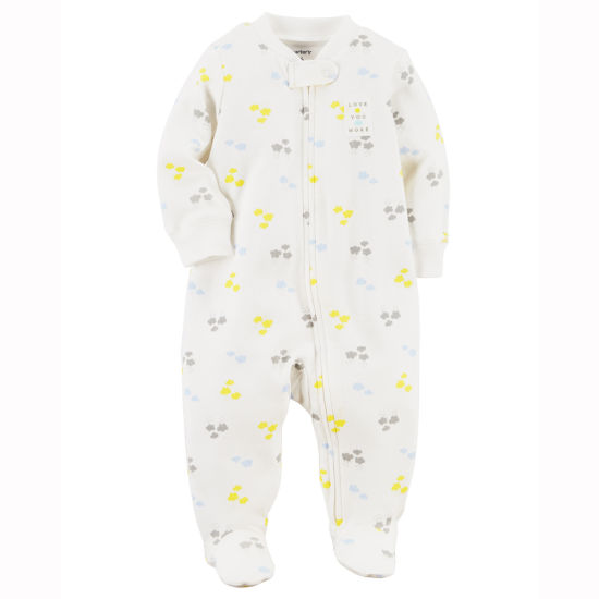 Carter's Sleep and Play Interlock Snap - Baby