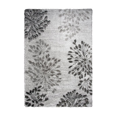 Rizzy Home Adana Collection Sofia Floral Rectangular Rugs