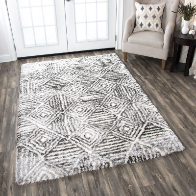 Rizzy Home Adana Collection Sophie Geometric Rectangular Rugs