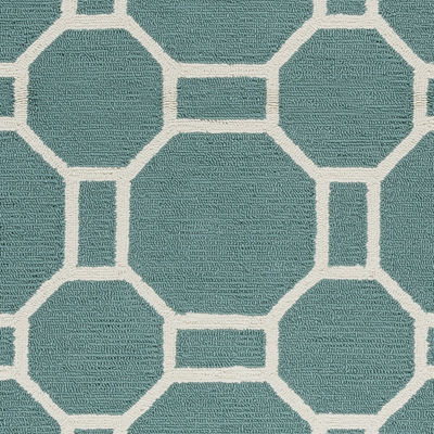 Rizzy Home Azzura Hill Collection Isabella Geometric Rugs
