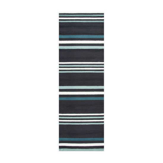 Rizzy Home Azzura Hill Collection London Stripe Rugs