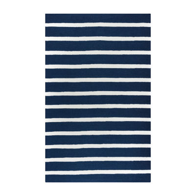 Rizzy Home Azzura Hill Collection Mia Stripe Rugs
