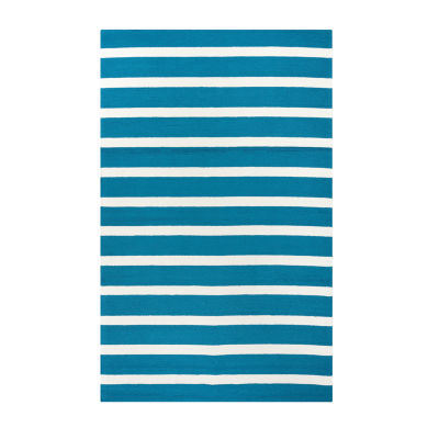 Rizzy Home Azzura Hill Collection Mia Stripe Rugs