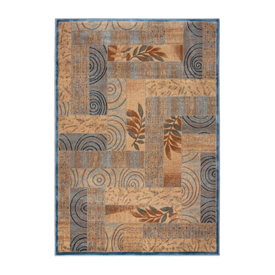 Rizzy Home Bellevue Collection Zoey Patchwork Rugs