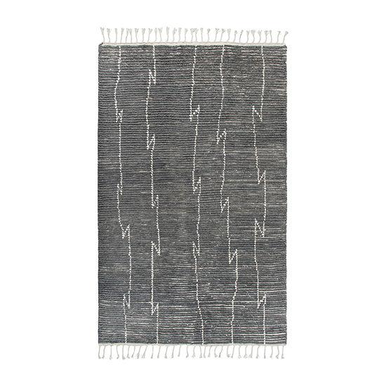 Rizzy Home Berkley Collection Adalynn Stripes Rectangular Rugs