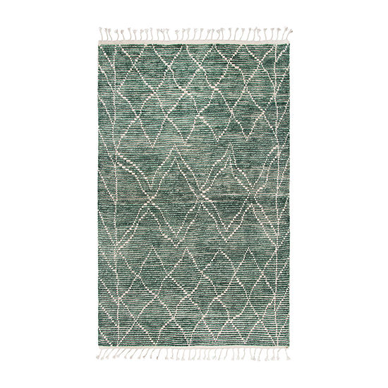 Rizzy Home Berkley Collection Rylee Diamond Rectangular Rugs