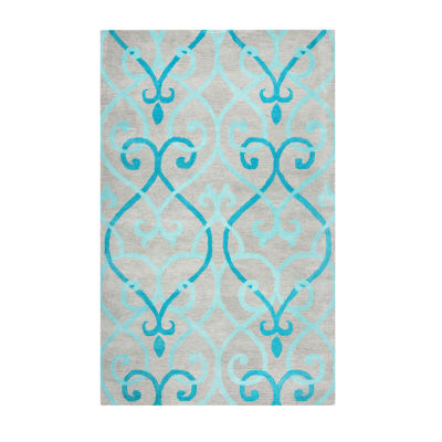 Rizzy Home Bradberry Downs Collection Liliana Geometric Rugs