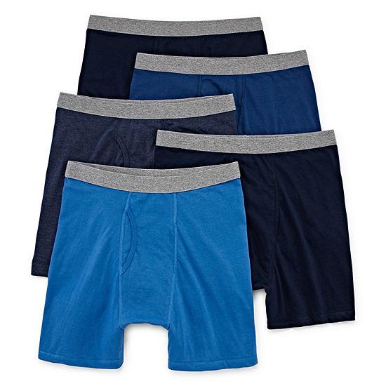 Stafford Blended Cotton 4+1 Bonus Pack Boxer Briefs