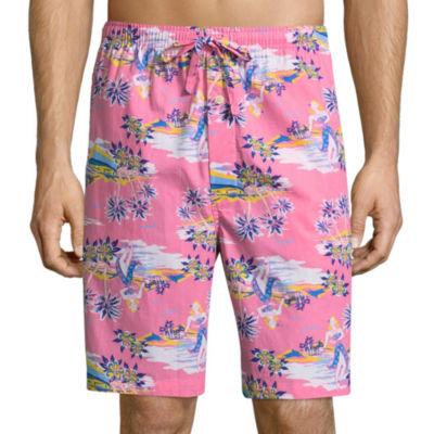 Stafford Woven Pajama Shorts