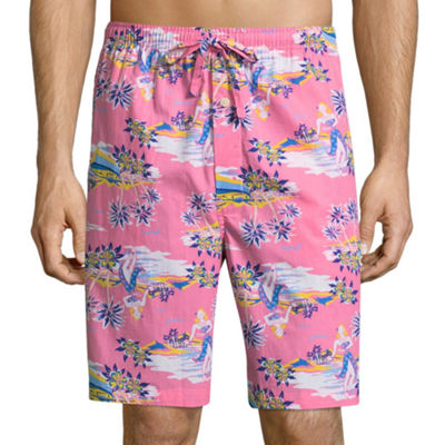Stafford® Woven Pajama Shorts - Big & Tall
