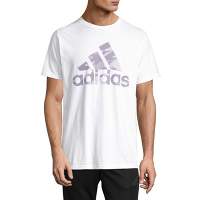 adidas Bos Lenitcular Short Sleeve Crew Neck T-Shirt-Athletic
