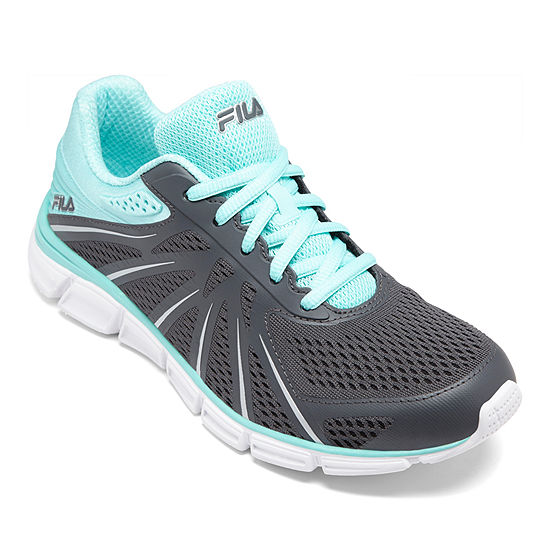 Fila Memory Fraction Womens Lace-up Running Shoes
