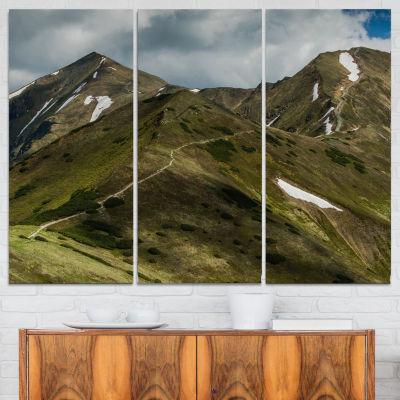 Colorful Fall American Prairie Oversized LandscapeCanvas Art - 5 Panels