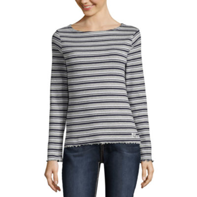 Us Polo Assn. Long Sleeve Sweatshirt-Juniors