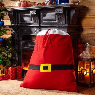 Belt Santa Sack Gift Bag