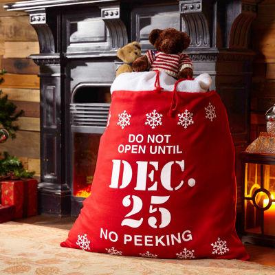 Christmas Santa Sack Gift Bag