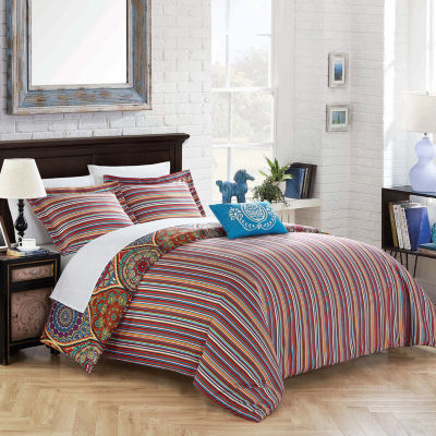 Chic Home Shulamit 3-pc. Duvet Cover Set