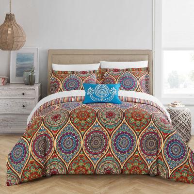 Chic Home Shulamit 4-pc. Duvet Cover Set