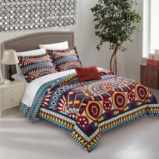 Chic Home Zaiden 4-pc. Duvet Cover Set