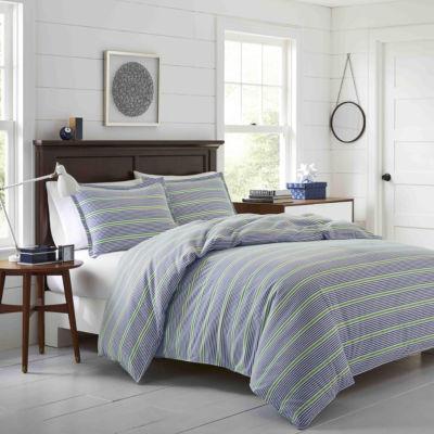 Poppy & Fritz Pierson Navy Flannel Comforter Set
