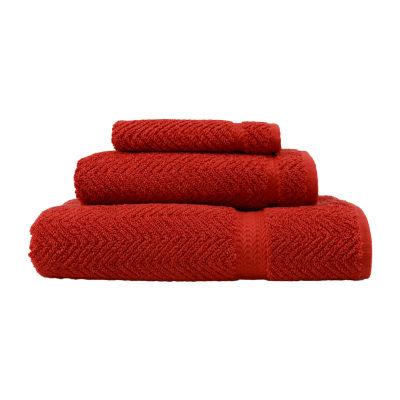 Linum Home Textiles Herringbone 3-pc Bath Towel Set