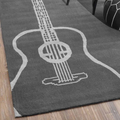 nuLoom Hand Tufted Acoustic Rug