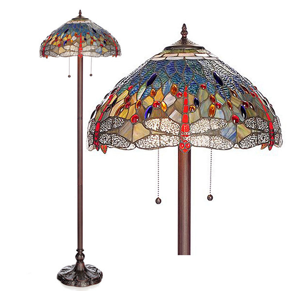 Warehouse Of Tiffany Metal Floor Lamp - JCPenney