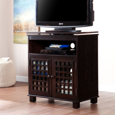 Incandescence Hearth Swivel Top Media Stand