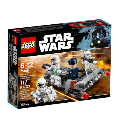 LEGO Star Wars First Order Transport Speeder Battle Pac 75166