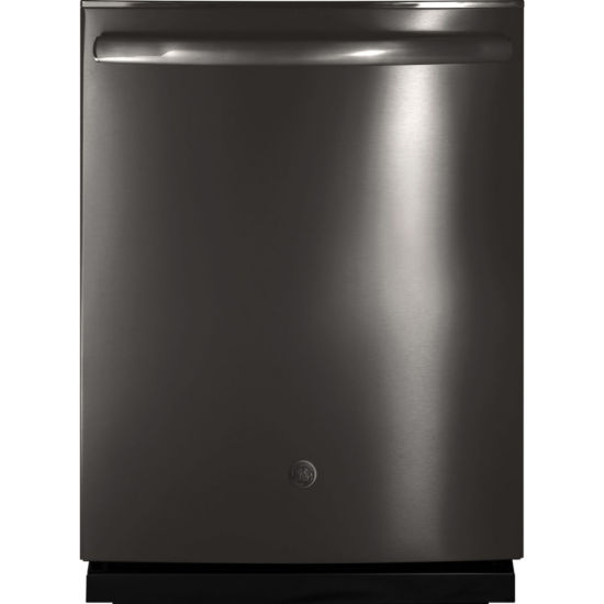 GE®  ENERGY STAR® Stainless-Steel Interior Dishwasher with Hidden Controls