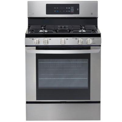 Capacity Single Oven Gas Range With EasyClean®