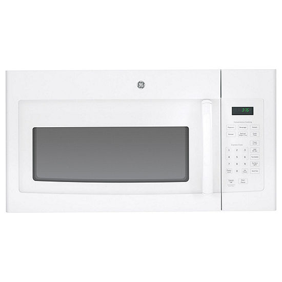 Ge 1 6 Cu Ft Over The Range Microwave Oven