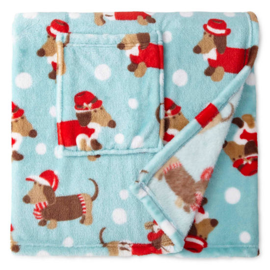 North Pole Trading Co. Blanket Wrap