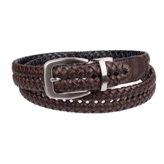 Stafford® Reversible Classic Braided Men's Belt