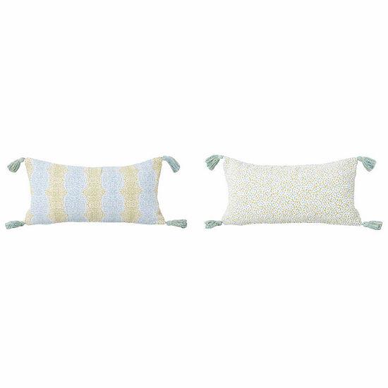 Thro by Marlo Lorenz Malikah Reversible Throw Pillow