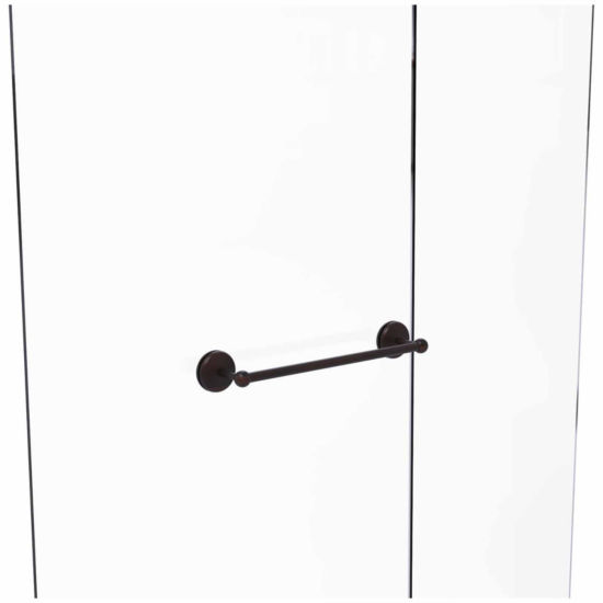 Allied Brass Monte Carlo Collection 18 IN Shower Door Towel Bar