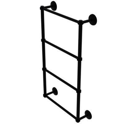 Allied Brass Monte Carlo Collection 4 Tier 24 Inch Ladder Towel Bar with Dotted Detail