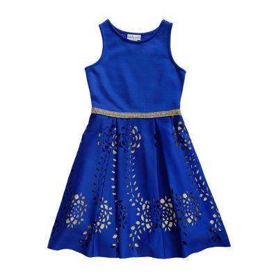 Emily West Sleeveless Skater Dress - Big Kid Girls