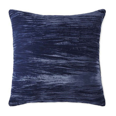 JCPenney Home Crushed Velvet Euro Pillow