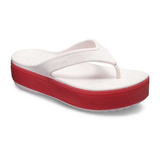 Crocs Unisex Adult Crocband Platform Flip-Flops