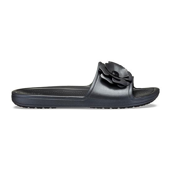 Crocs Womens Crocs Sloane Vividblooms Sld Slide Sandals