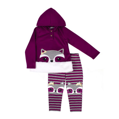Nanette Baby 2-pc. Legging Set-Baby Girls