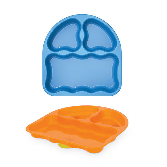 2-Pack GERBER GRADUATES Tri-Suction Plates