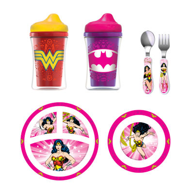 NUK® Batgirl Justice League Toddler Feeding Set