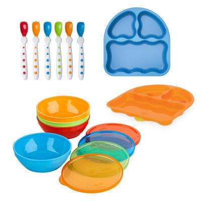 Gerber Gerber 12-Pc. Bunch-A-Bowls Feeding Set 12-pc. Baby Utensil