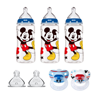 NUK® Mickey Mouse Bottle & Pacifier Newborn Set