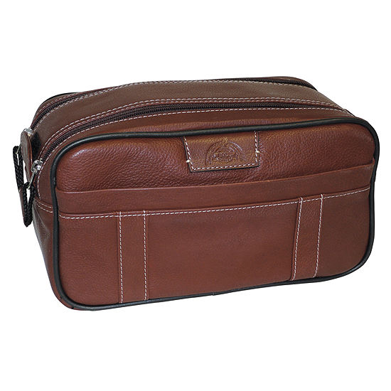 DOPP® Country Saddle Soft Sided Multi-Zip Toiletry Bag