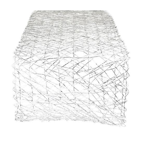 "72"" X 14"" Woven Paper Table Runner"
