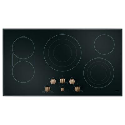 "Café™ 36"" Built-In Knob Control Electric Cooktop"