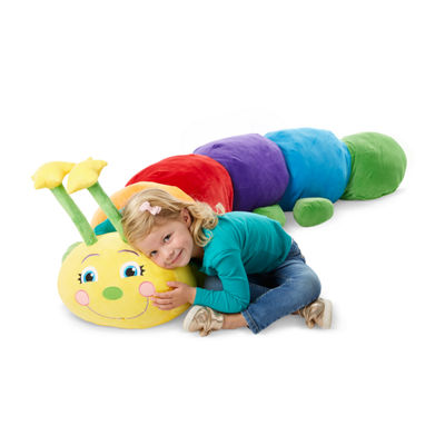 Melissa & Doug Jumbo Rainbow Caterpillar Interactive Toy - Unisex